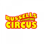 Russells International Circus logo